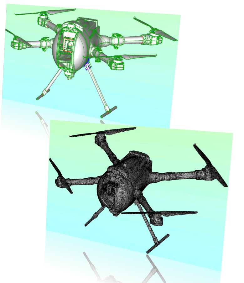 uav-antenna-siting-simulation-meshing-and-automatic-cleanup